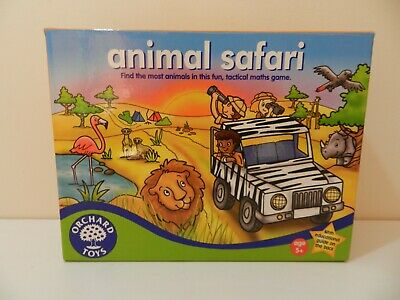 Orchard Toys Game Animal Safari 100% Complete Excellent Condition Educational