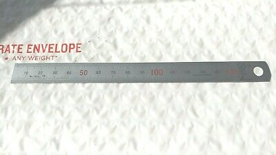 Metric Scale 0 - 150mm Stainless Hardened Scale