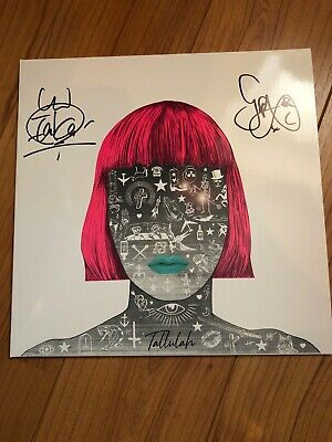 Feeder Tallulah Hand Signed Autographed White Vinyl Limited Edition Album Lp New