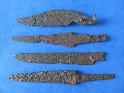 RARE Lot (4)  ANCIENT Roman - Medieval Iron Knives