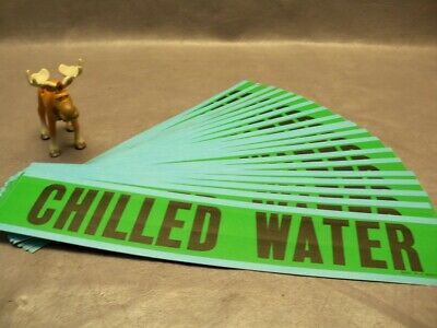 Brady Cooling Water Pipe Marker Lot of 23