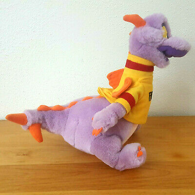 "Vintage Figment Dragon Plush 10"" Disneyland Disney World"