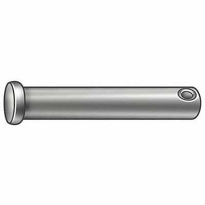 FABORY U39798.037.0612 Clevis Pin,Steel,3/8 in. dia.,PK10