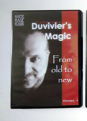 Magie lot 4 DVD FROM OLD TO NEW de Dominique Duvivier - Comme neuf