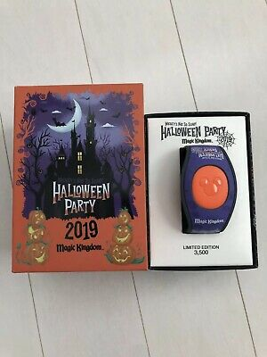 Disney Mickeys Not So Scary Halloween Party LE Magicband Magic Band Limited 2019