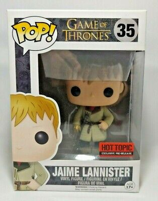 #35 Funko Pop Jaime Lannister Hot Topic EXCLUSIVE Figurine Game of Thrones