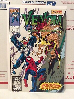 Venom: Lethal Protector #4 (May 1993, Marvel) VF