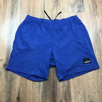 Vintage 90's Adidas Equipment Shorts With Pockets Retro Gym Size Large D8 (S586)