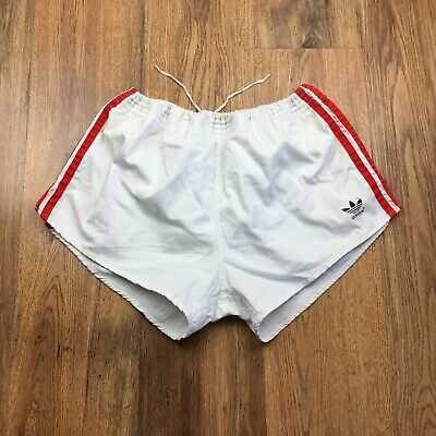 Vintage 80's Adidas Cotton Shorts West Germany Gym Running Size 7 Large (S524)