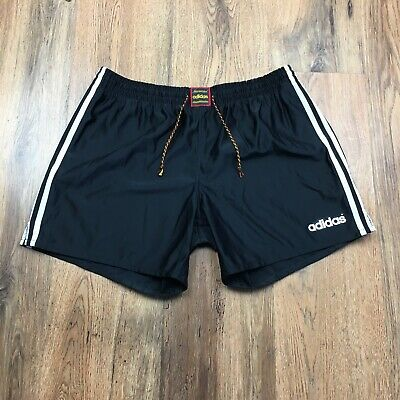 Vintage Adidas By Descente Shorts With Gym Football Retro Size Jaspo L 80 (S597)