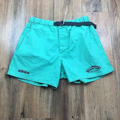 Vintage Adidas Bollettieri Tennis Academy Shorts Pockets Rare Size Large (S590)