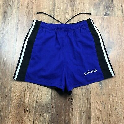 Vintage 90's Adidas Shorts With Pockets Gym Retro Size Small (S593)