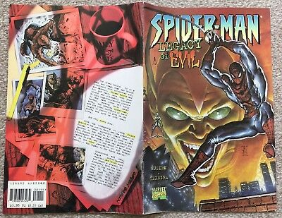 Spider-Man Legacy of Evil - one-shot (1996) - FIRST PRINT