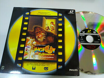 Bigfoot y los Henderson William Dear - Laserdisc LD ESPAÑOL