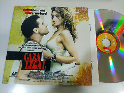 Caza Legal Cindy Crawford William Baldwin - Laserdisc LD ESPAÑOL