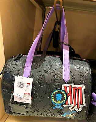 Disney Parks Haunted Mansion 50th Anniversary Loungefly Ghosts Purse Bag NEW