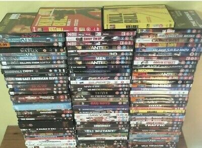 DVD Bundle Over 75 DVD`s job lot wholesale bundle joblot carboot Mixed Items