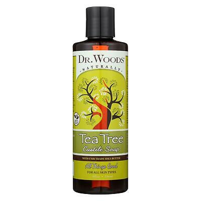 DR  WOODS - Pure Tea Tree Castile Soap - 32 fl  oz  (946 ml
