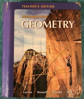 MCDOUGAL LITTELL GEOMETRY, TEACHER'S EDITION By Laurie Boswell - Hardcover