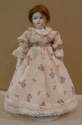 """Very rare tiny 8"""" antique Belton, Biedemeir Parian doll, French/German ?"""