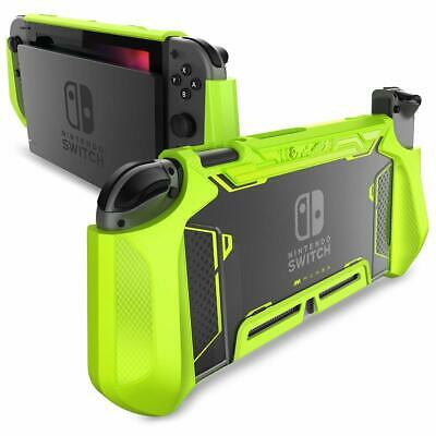 For Nintendo Switch Console Joy-Con Controller, Mumba Grip Dockable Cover Case