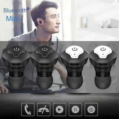 Wireless Bluetooth Twins Stereo Headset Earphone Earbud for iPhone Android