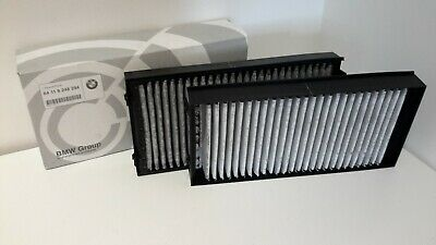 BMW X5 X6 E70 F15 Genuine Cabin Microfilter Set with Carbon Canister 64119248294