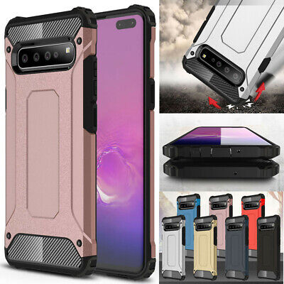 For Samsung Galaxy S10 5G S10Plus S10e Case Rugged Armor Hybrid ShockProof Cover