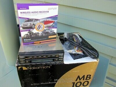 Nakamichi MB-100 complete and with Bluetooth module - Non working cd section