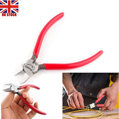 6inch Flush Diagonal Side Cutter Wire Cutting Nippers Pliers Electric Cable