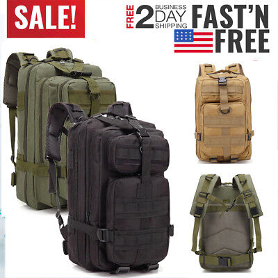 30L Tactical Outdoor Sport Military Tactical Bag Camping Hiking Trekking Backpac