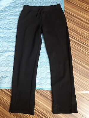 Girls Black School PE Joggers 13/14yrs