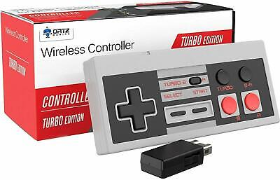 NES Classic Wireless Controller [Turbo Edition] Rapid Buttons for Nintendo