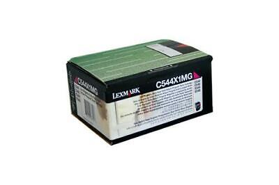 Lexmark C544X1MG Magenta Toner Cartridge (Genuine)