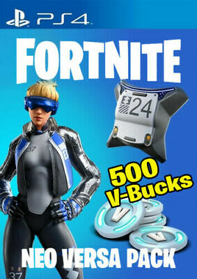 Fortnite Neo Versa Bundle Pack Skin + 500 V-Bucks PS4 Code (EU) DIGITAL