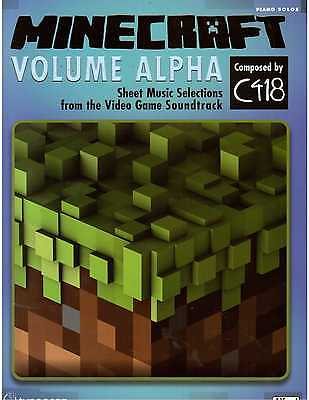 Minecraft Volume Alpha Piano Sheet Music by C418 - Video Game Soundtrack !