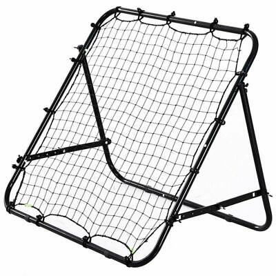 HOMCOM Rebounder Net Soccer Kickback Target Goal Kids Adults Football Training A