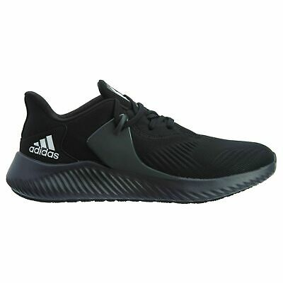 Mens Adidas Alphabounce RC 2.0 Black Running Athletic Shoes BD7091 Size 9.5-11