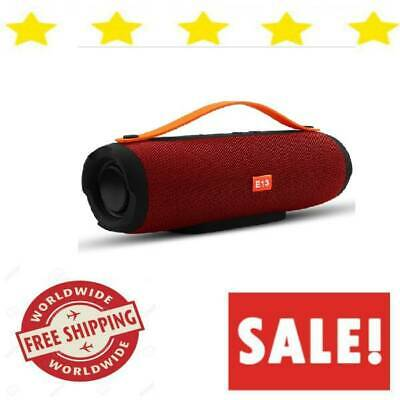 Bluetooth Speaker Outdoor Portable Wireless Waterproof With Radio Fm Stereo NEW