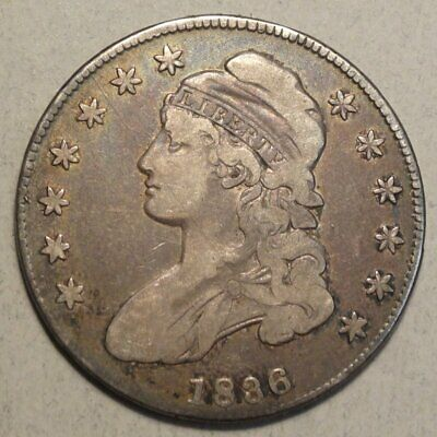 1836 Capped Bust Half Dollar, Discounted Bargain Price.    0613-30