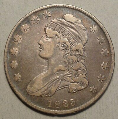 1835 Capped Bust Half Dollar, Discount Priced.  0613-24