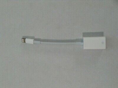 AUTHENTIC   Apple Lightning to USB Camera Adapter  MD821AM/A  (NO box)