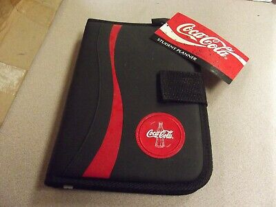 Coca-Cola Undated Weekly Day Planner Notebook NEW WITH TAG