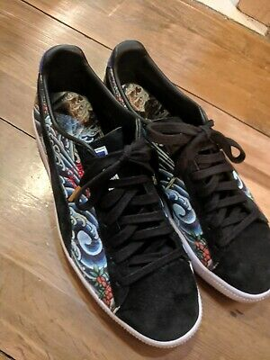 differently 5553d dca97 PUMA CLYDE X Atmos TTT (black suede) RARE Deadstock Size 11