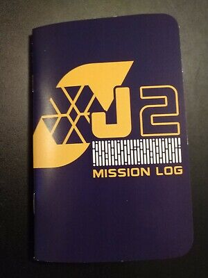 Lost In Space Jupiter 2 Mission Log Notebook Loot Crate Exclusive New