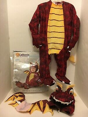 California Costume Adorable Dragon Infant Costume CCC-10019 Red//Yellow