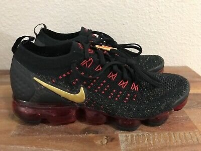 Nike Air Vapormax FK 2 CNY Flyknit Chinese New Year BQ7036-001 Men's Size 6.5