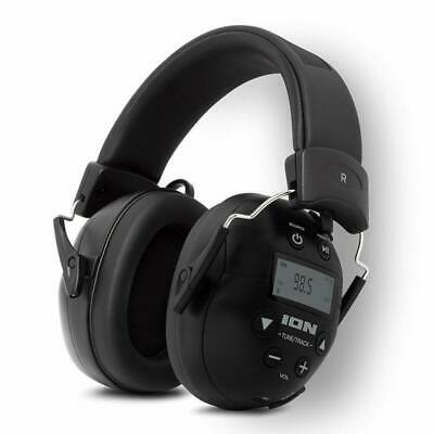 ION Audio Tough Sounds 2 Noise Reduction Headphones for Superior Hearing Protect