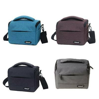 Camera Bag Shoulder Backpack Durable Polyester Waterproof Photo Carrying Case