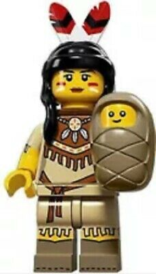 "LEGO MINIFIGURES SERIES 15 ~ The ""TRIBAL WOMAN"" (71011) ~ (SEALED PACK)"